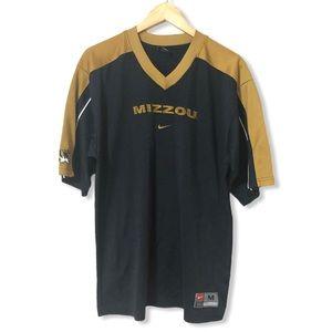 Nike Mizzou University of Missouri Jersey Tee—M